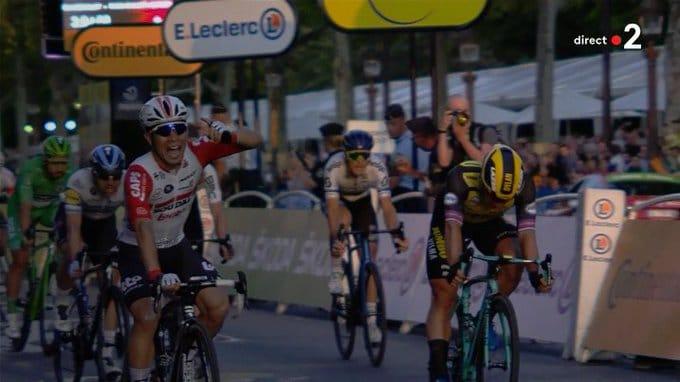 Egan Bernal vainqueur du Tour 2019