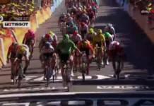 Peter Sagan gagne sa première étape sur ce Tour 2019