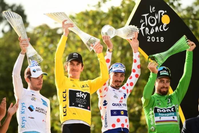 Tour de France 2019 engagés