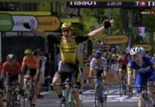 Wout Van Aert se déjoue des pièges de la 10e étape