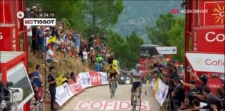 Alejandro Valverde vainqueur de la 7e étape au sommet