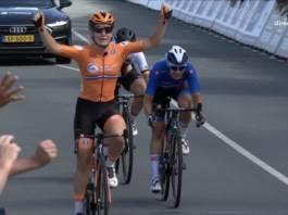 Amy Pieters championne d'Europe