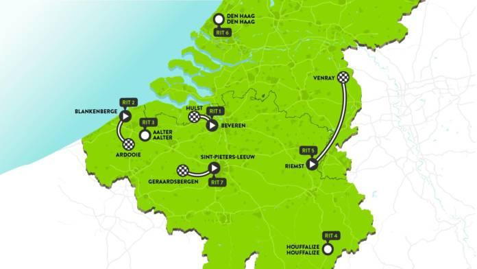 BinckBank Tour 2019 parcours et favoris