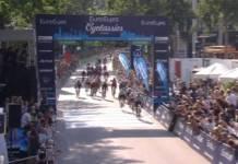 Elia Viviani triple vainqueur de l'épreuve