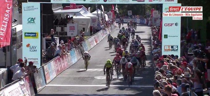 Mikel Aristi gagne la 2e étape du Tour du Limousin 2019