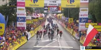 Pascal Ackermann premier vainqueur d'étape au Tour de Pologne 2019