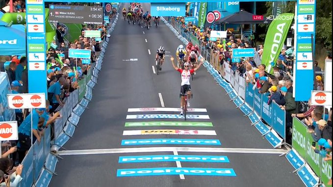 Tiesj Benoot leader d'entrée au Tour du Danemark