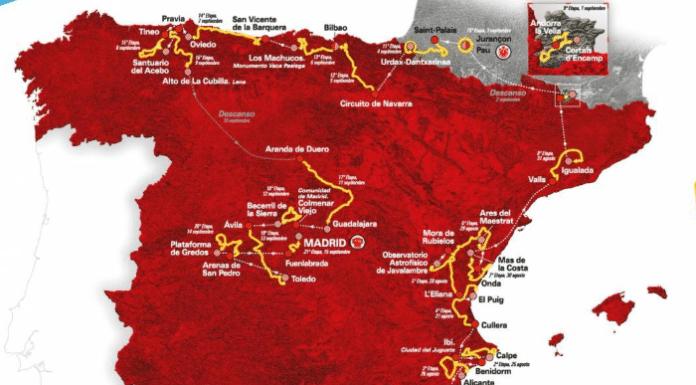 Tour d'Espagne 2019 parcours et favoris