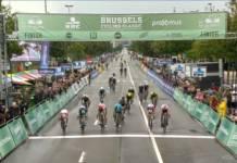 Caleb Ewan s'offre la Brussels Cycling Classic