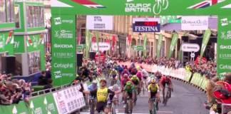 Dylan Groenewegen remporte la 3e étape du Tour de Grande-Bretagne