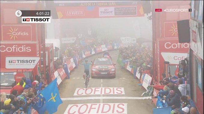 Jakob Fuglsang remporte l'une des étapes de montagne de cette Vuelta