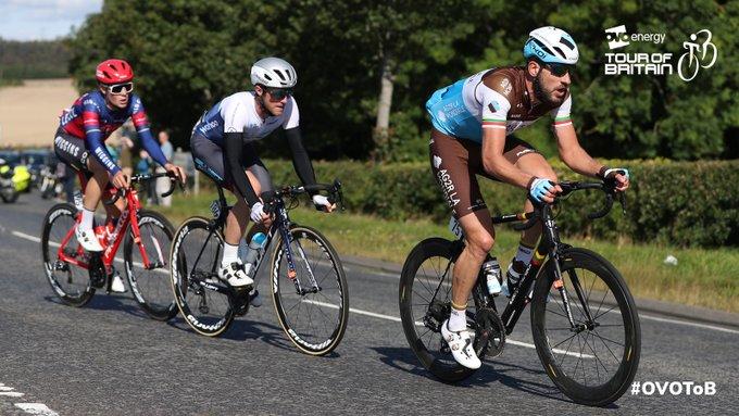 L'échappée du jour sur la 2ème étape du Tour de Grande-Bretagne