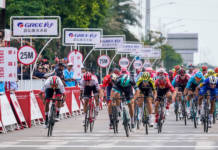Fernando Gaviria gagne l'étape 1 du Tour of Guangxi