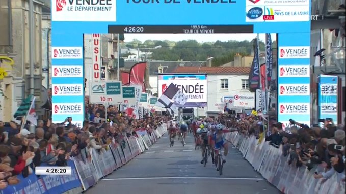 Marc Sarreau s'adjuge le Tour de Vendée