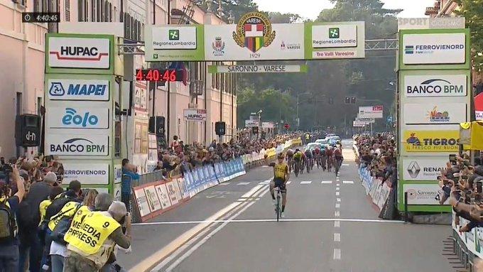 Primoz Roglic vainqueur des Trois Vallées Varésines