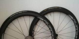 Essai des roues Alian carbone en 35mm