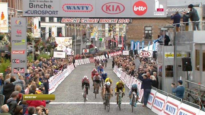 Tom Van Asbroeck remporte Binche-Chimay-Binche
