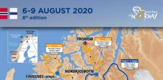 Arctic Race of Norway 2020 parcours