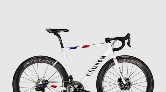 Canyon et le vélo de champion de France de Warren Barguil