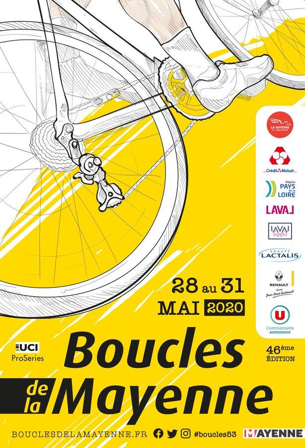 Boucles de la Mayenne 2020 parcours