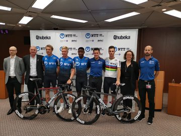 NTT Pro Cycling intègre le peloton international