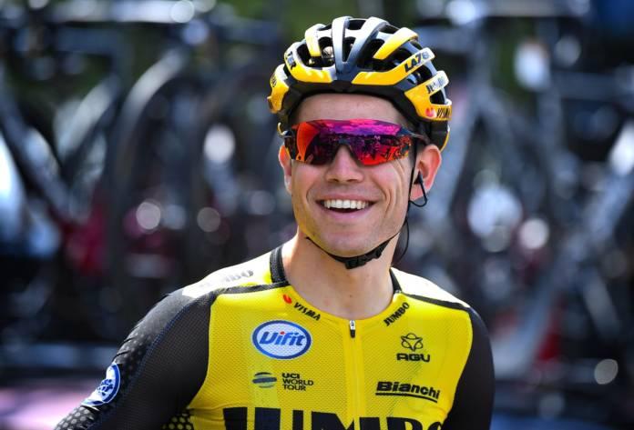 Wout Van Aert au départ du cyclo-cross de Loenhout