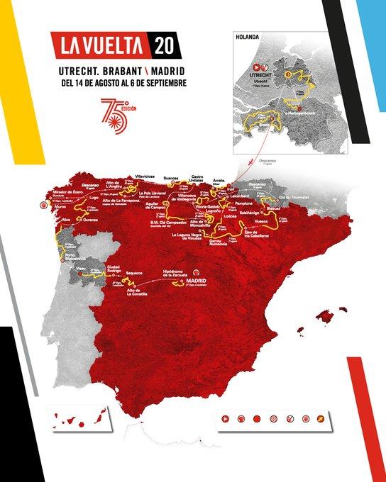 Vuelta 2020 parcours