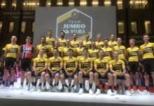 Team Jumbo-Visma avec Roglic et Dumoulin au Tour 2020