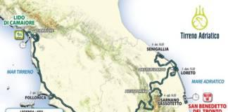 Tirreno Adriatico 2020 parcours