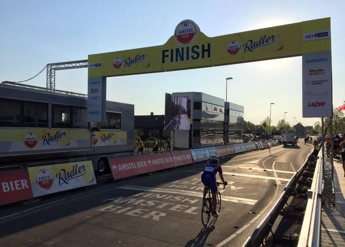Le Team Arkéa-Samsic à l'Amstel Gold Race