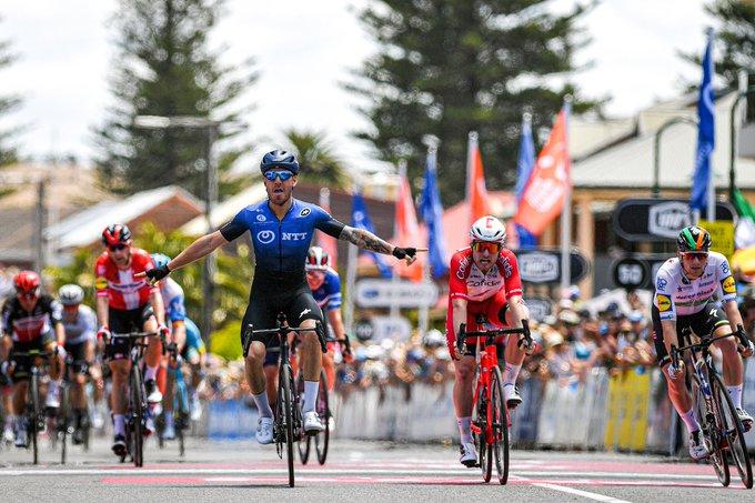 Giacomo Nizzolo vainqueur de la 5e étape du Tour Down Under
