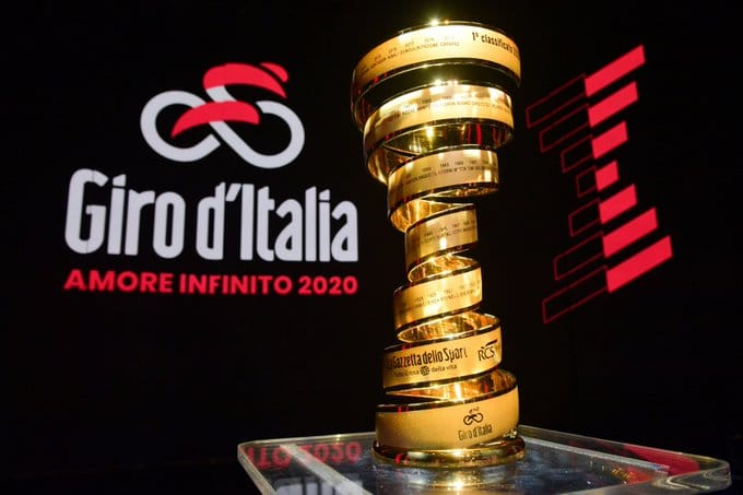Giro 2020 invitations