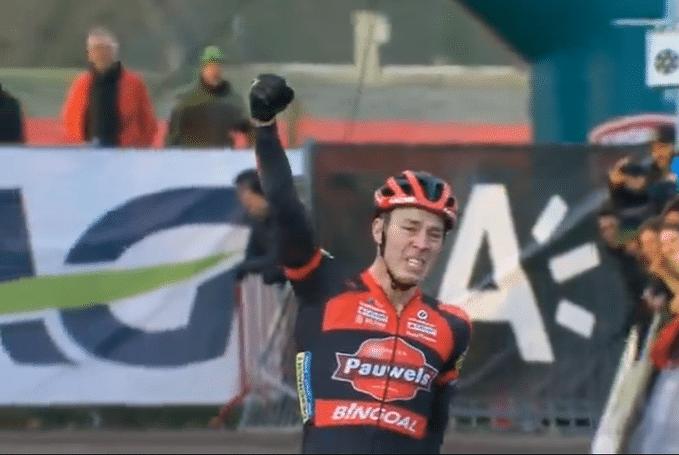 Laurens Sweeck remporte son premier championnat belge