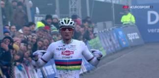 Mathieu van der Poel gagne le GP Sven Nys