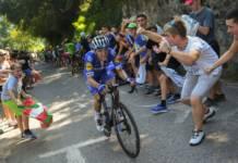 Remco Evenpoel file droit vers sa victoire sur la Clasica San Sebastian