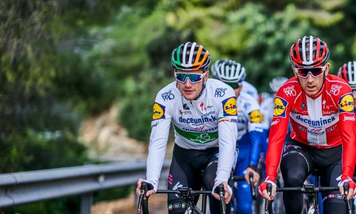 Sam Bennett leader sur le Tour Down Under 2020
