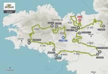 Tour de Bretagne 2020 le parcours