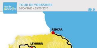 Tour de Yorkshire 2020 parcours