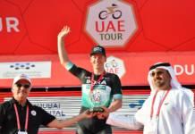 Pascal Ackermann, vainqueur de la 1ère étape de l'UAE Tour
