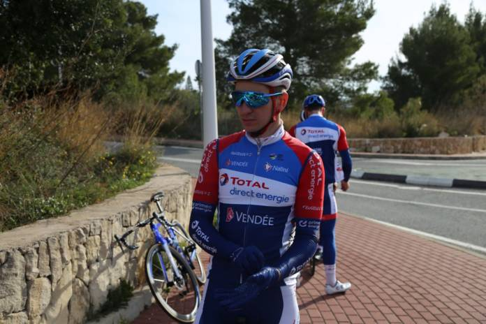 Anthony Turgis en stage à Calpe