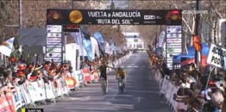 Jack Haig remporte la 4e étape du Tour d'Andalousie