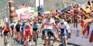 Juan Sebastian Molano vainqueur en Colombie de la 2e étape