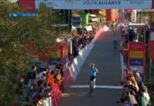 Miguel Angel Lopez vainqueur de la 4e étape du Tour d'Algarve