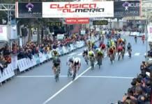 Pascal Ackermann gagne une deuxième fois la Clasica de Almeria