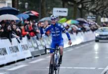 Rémi Cavagna avec autorité de la Faun Ardèche Classic
