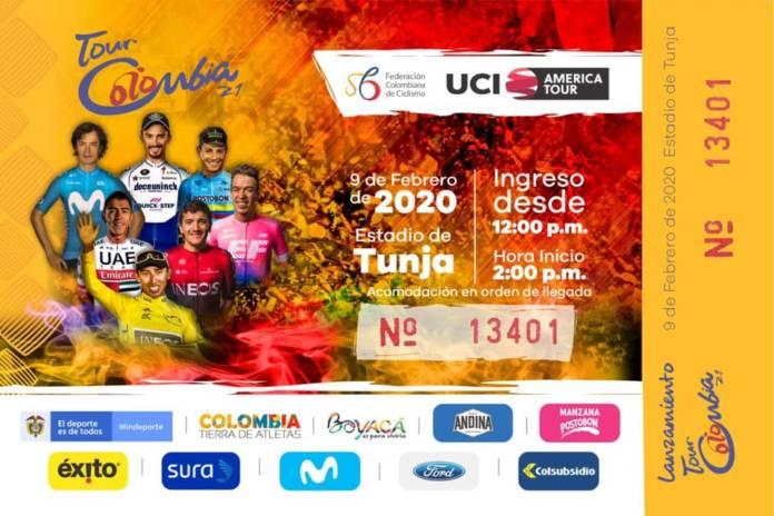 Tour de Colombie 2020 parcours et favoris