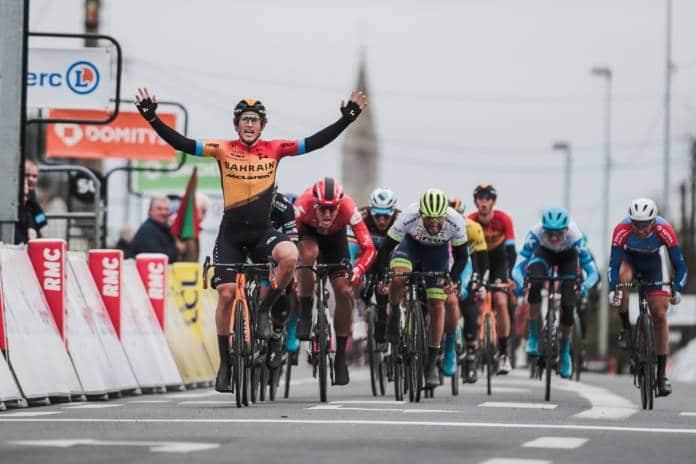 Garcia Cortina 3e étape de Paris-Nice