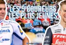 Les 5 coureurs les plus jeunes du World Tour 2020