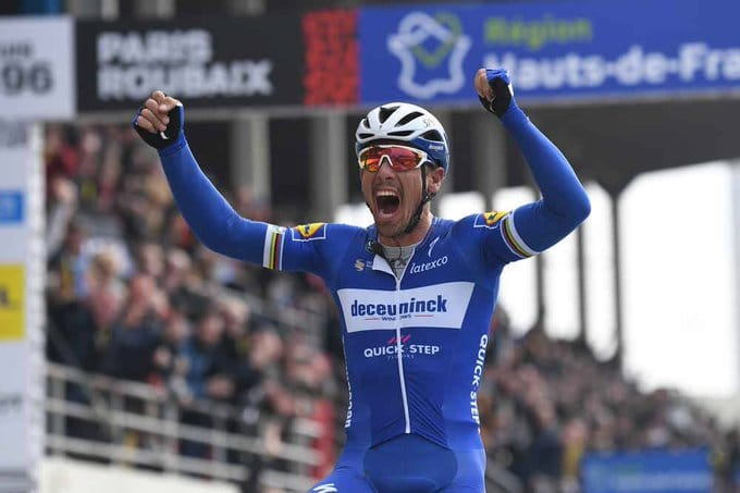 Paris-Roubaix au palmarès de Philippe Gilbert