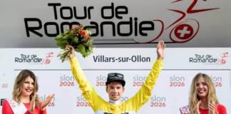 Primoz Roglic vainqueur du Tour de Romandie 2018